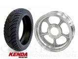 モンキー用12インチアルミキャストホイール&KENDAタイヤ120/70-12タイヤセット