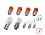 スーパーカブC50/70カブ90用12V電球セット オレンジウインカー電球