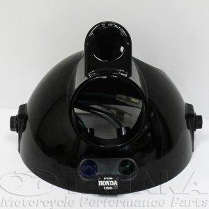 画像3: モンキー用 マルチカットリフレクターヘッドライト ブラック・イエロー