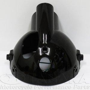 画像2: モンキー用 マルチカットリフレクターヘッドライト ブラック・イエロー