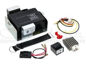 画像1: 【LEDウインカー専用】ダックス用 6V→12V化 コンバージョンキット(12V変換キット)