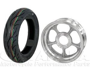 画像1: モンキー用12インチアルミキャストホイール&DUROタイヤ120/70-12タイヤセット