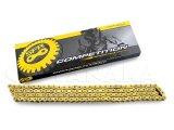 SFR製チェーン 420-120L ゴールドカラー