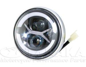 画像1: モンキー純正ヘッドライト用 カスタマイズLEDヘッドライトユニット
