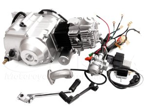 画像1: セル付遠心クラッチ 50ccエンジン