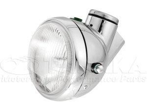 画像1: モンキー用 5Lタイプヘッドライトセット  メッキ