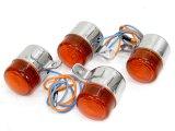 汎用 ウインカー A(6v) オレンジ 4Lモンキータイプ
