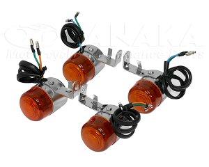 画像1: 汎用 ウインカー B オレンジ