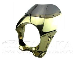 画像1: モンキー エイプ用 ビキニカウル ゴールドメッキ