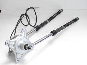画像2: ダックスシャリー用 ドラムハブ&インナーフォークASSY 580mm