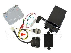 画像1: 【LEDウインカー専用】CT110ハンターカブ(P型) 6V→12V化セット(12V変換キット)