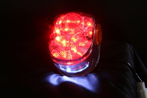 その他の写真1: 4Lモンキー 初期ダックスタイプ  LEDテールランプ  スモーク