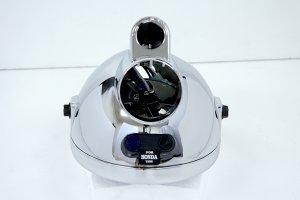 画像2: モンキー用 マルチカットリフレクターヘッドライト メッキ・イエロー